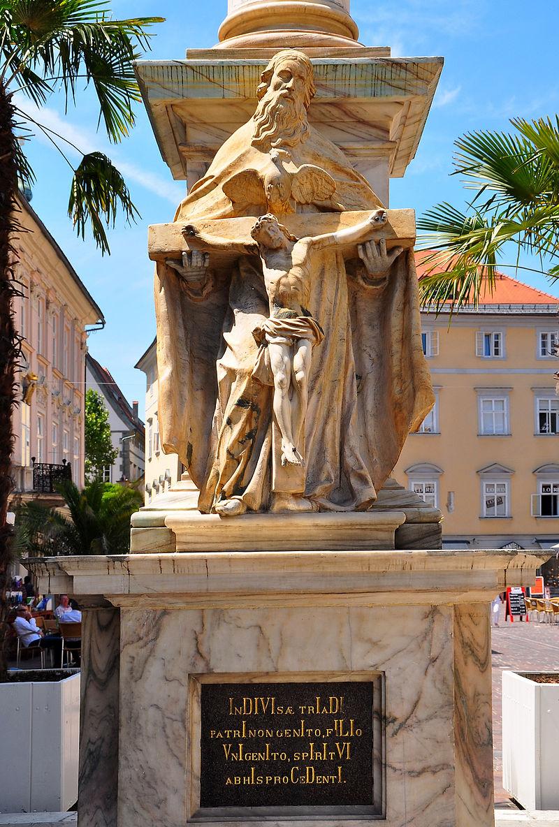 Dreifaltigkeitssäule, Pestvotivdenkmal © By Johann Jaritz via Wikimedia Commons