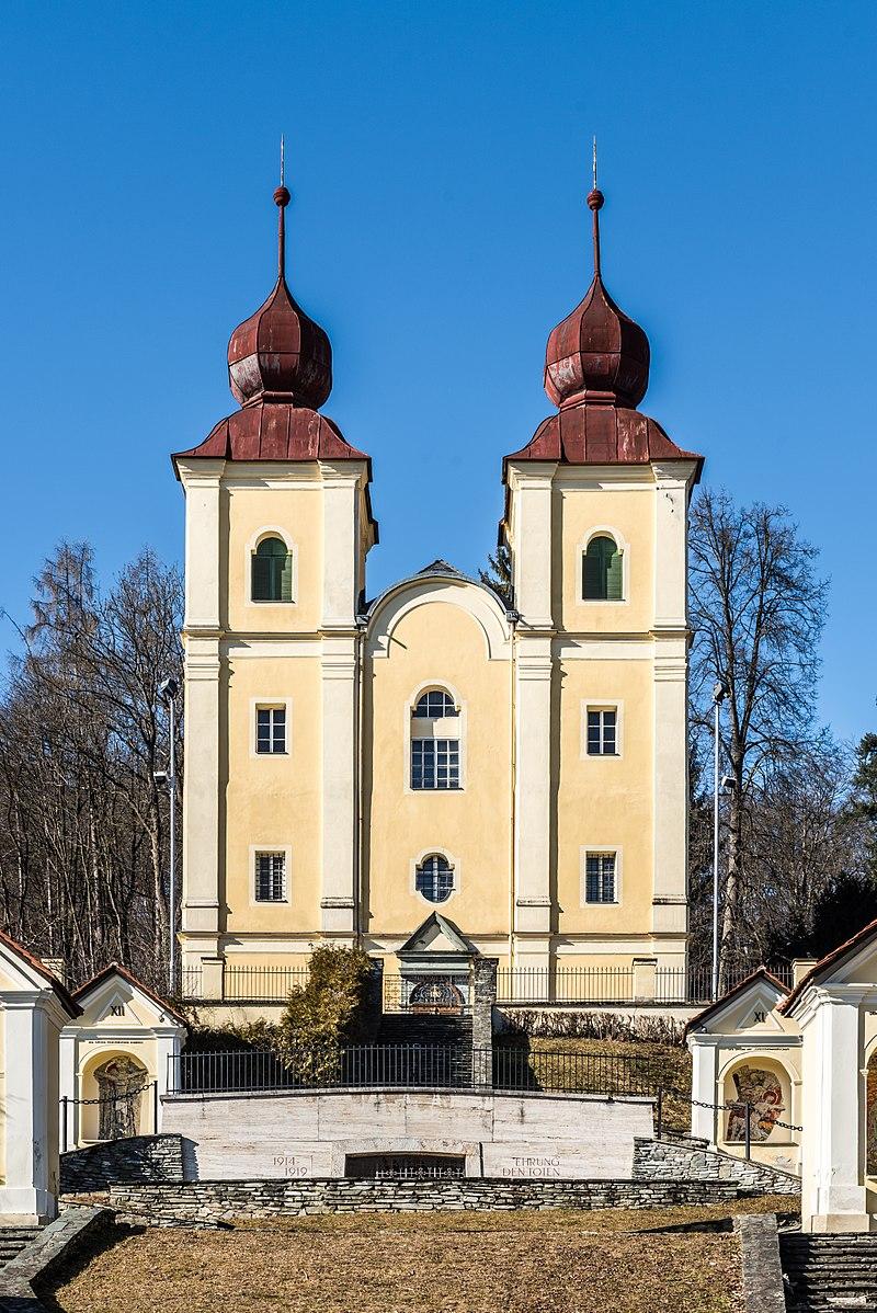 Kreuzberglkirche (Kalvarienbergkirche) und Umfriedung © by Johann Jaritz