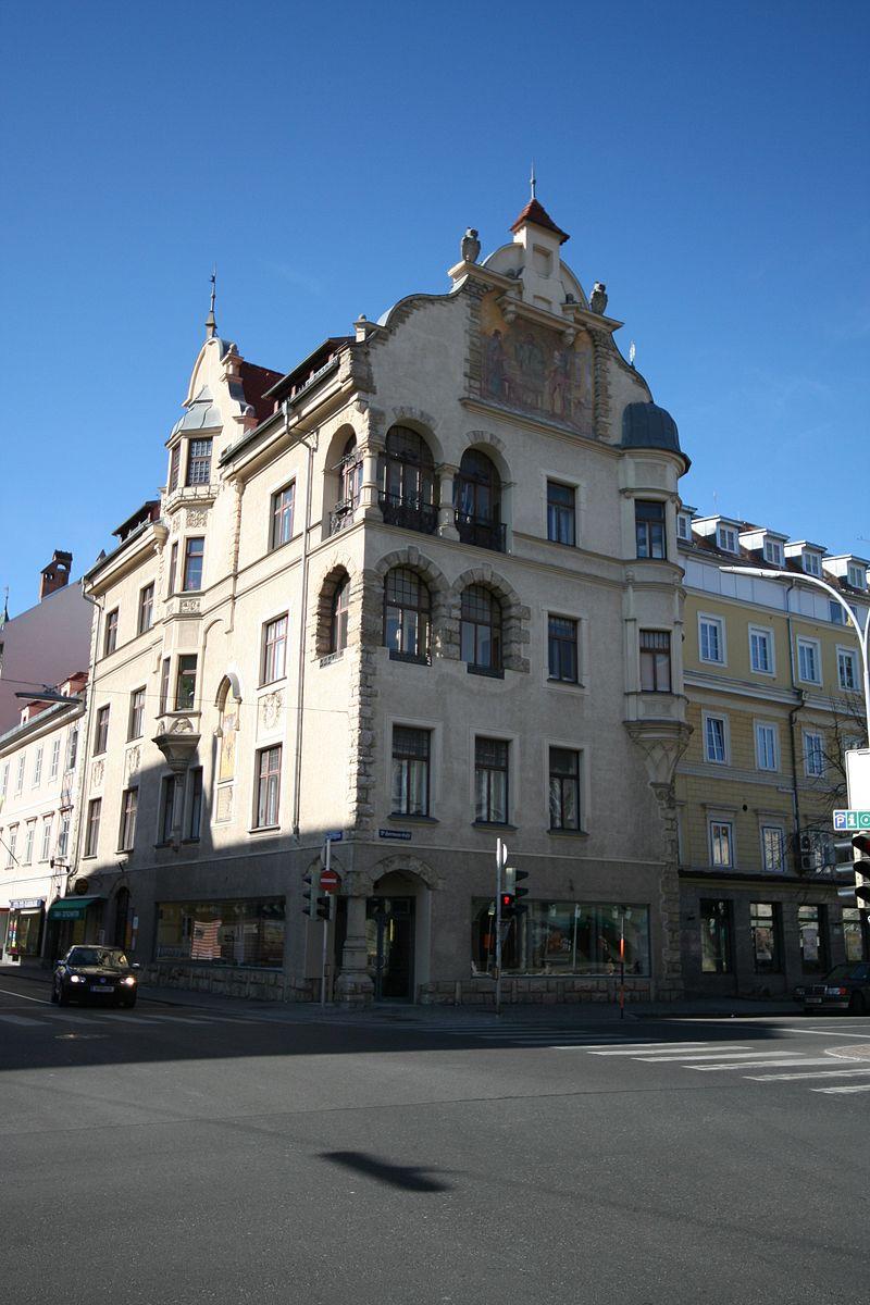 Wohn- und Bürohaus, Gutenberghaus © by JJ55