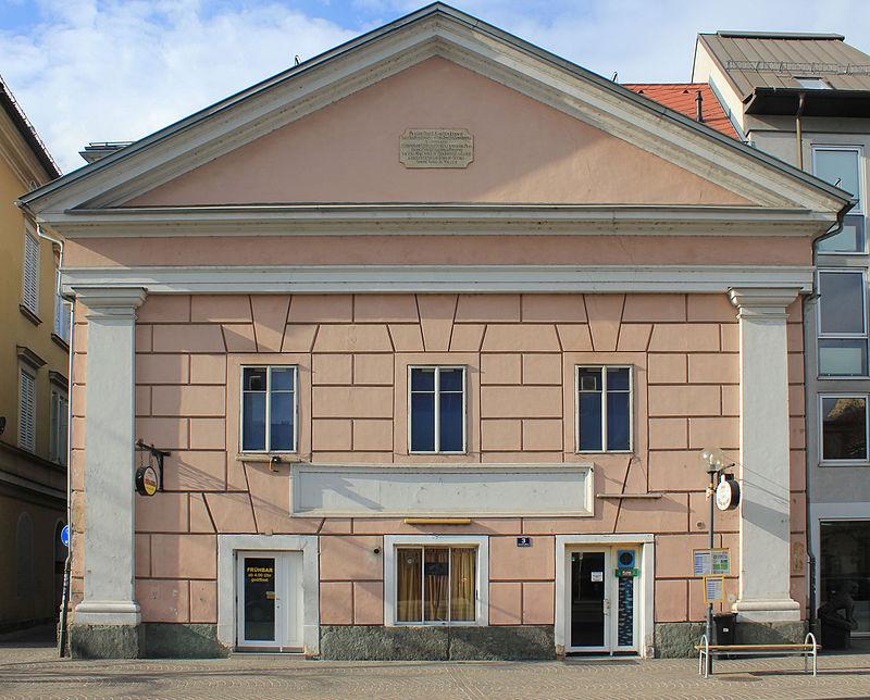 Bürgerhaus, ehem. Villachertor (Stadttor) © by Raul de Chissota