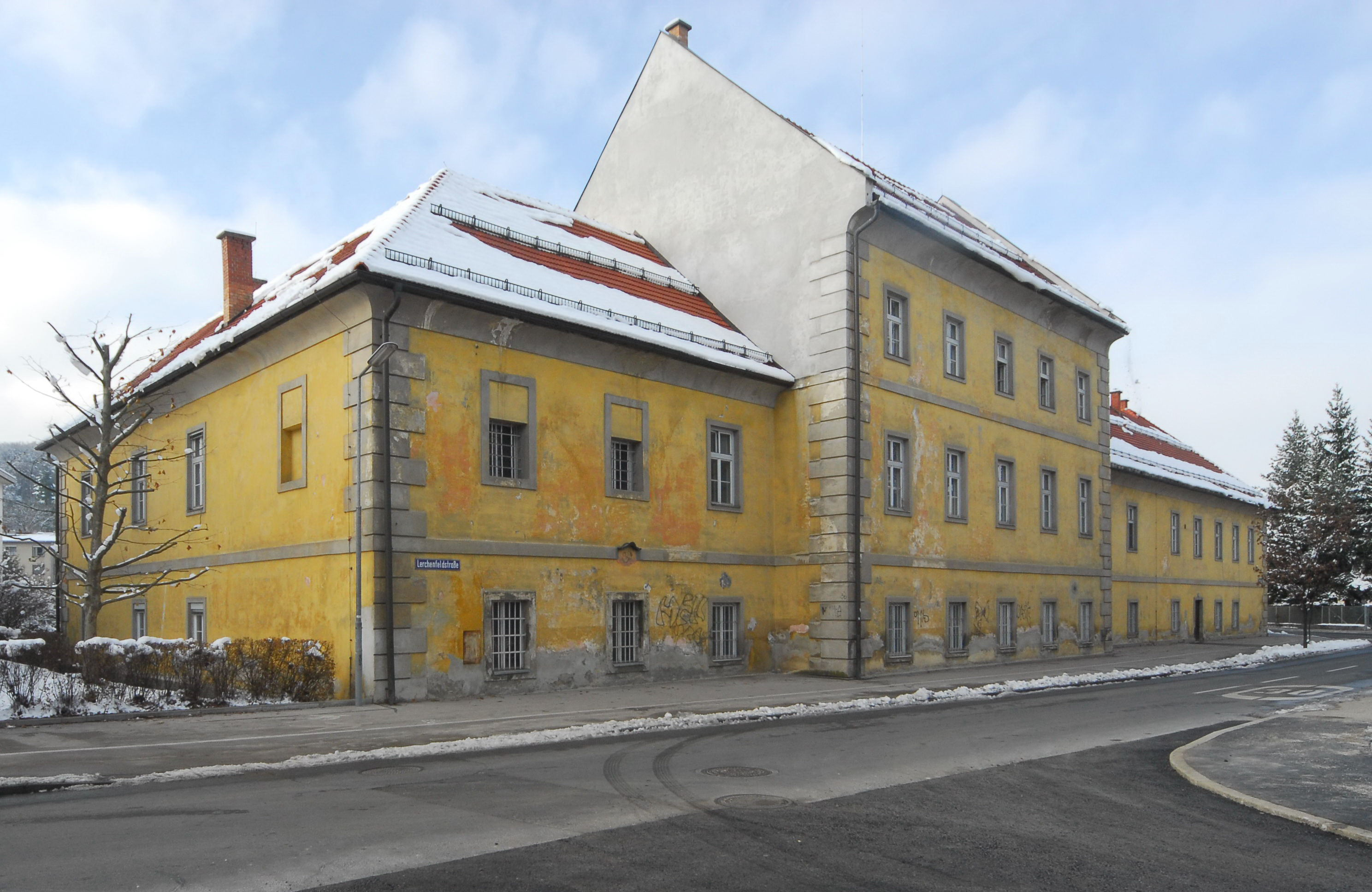 Ehem. Truppenspital, Wohnhausanlage © by Johann Jaritz