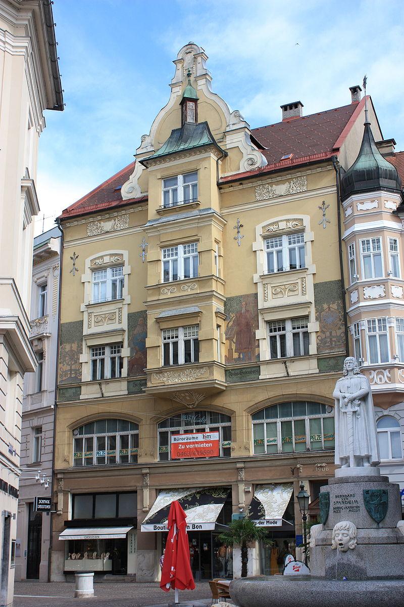Wohn- und Geschäftshaus, Leonhaus © by Mefusbren69