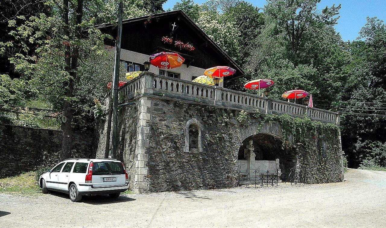 Schweizerhaus-Terrasse und Kinkdenkmal Weitere Einzelheiten Schweizerhaus-Terrasse und Kinkdenkmal © by Johann Jaritz
